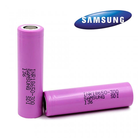 Samsung 30Q 18650 Battery 3000mAh 15A