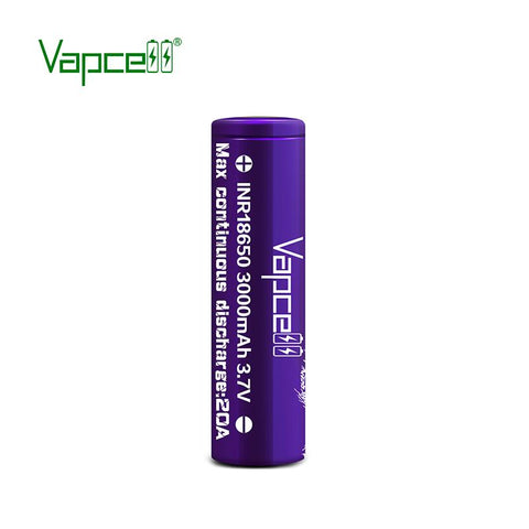 Vapcell Purple 20A 3000mAh 18650