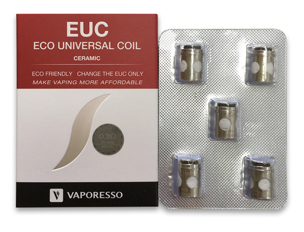 Vaporesso EUC Replacement Coils (5 pack)