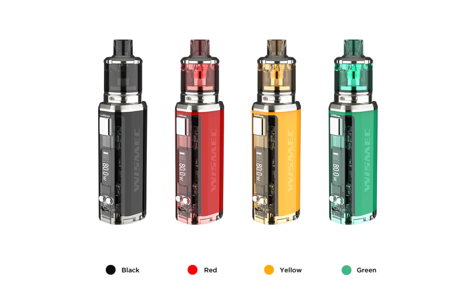 Wismec Sinuous V80 Mod with Amor NSE Tank Starter Kit (FREE SHIPPING)