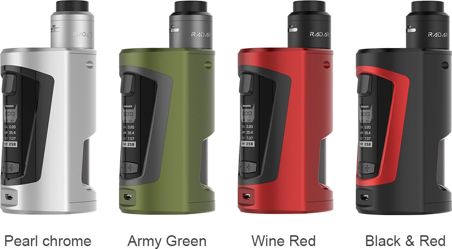 GeekVape GBOX Squonker 200W TC Kit with Radar RDA(FREE EXPRESS SHIPPING)