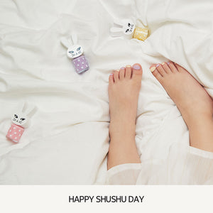 [06. GIRL POWER LILAC] Happy ShuShu Day Water-based Nail