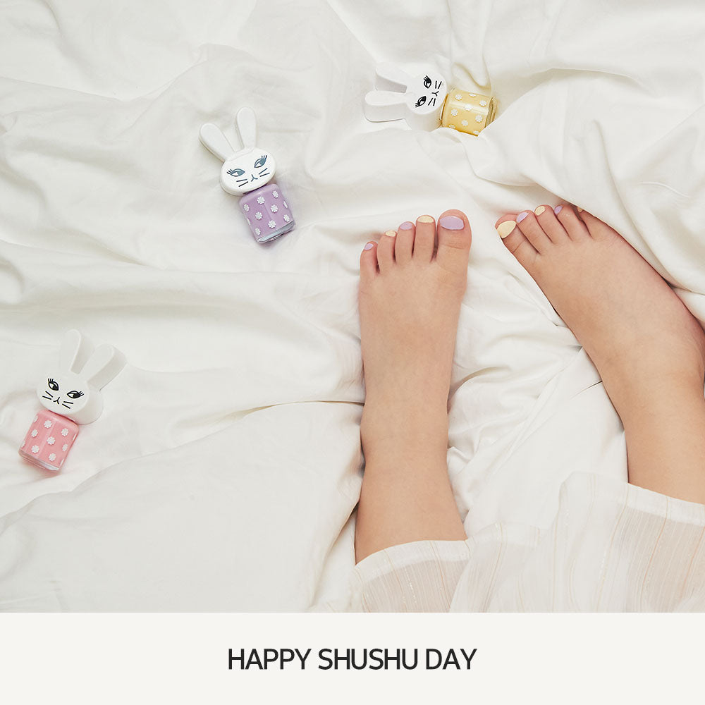 [01. DANCE PARTY SILVER] Happy ShuShu Day Water-based Nail