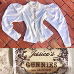 Load image into Gallery viewer, 1970s Vintage Jessica's GUNNIES San Francisco - Blouse