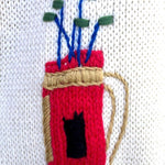 Load image into Gallery viewer, 1950s Wool Knit Golf Sweater