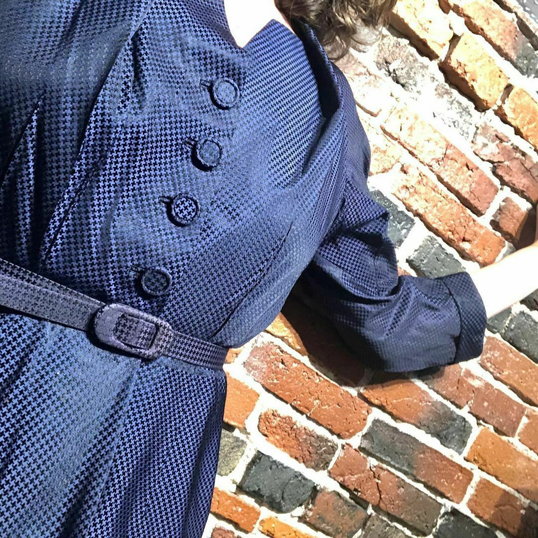 1940s-1950s Vintage Optical Button Down Jacket