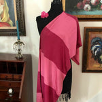 Load image into Gallery viewer, 1930s ART DECO Vintage Block Rayon Shawl/Scarf