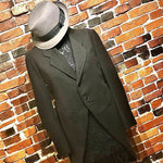 Load image into Gallery viewer, 1930s Vintage Wool Tailcoat/Tuxedo Jacket