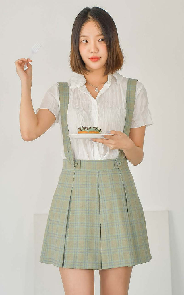 beautiful beautiful checked skirt