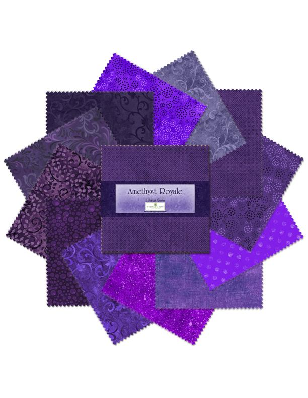 Amethyst Royale Charm Pack