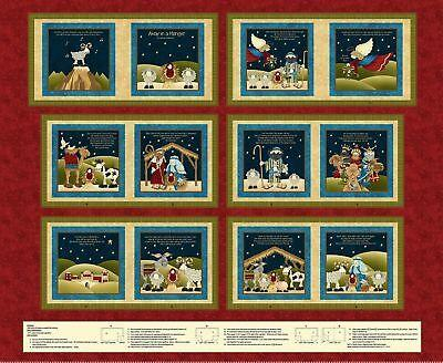 Away in a Manger 2005P-88 Book Panel