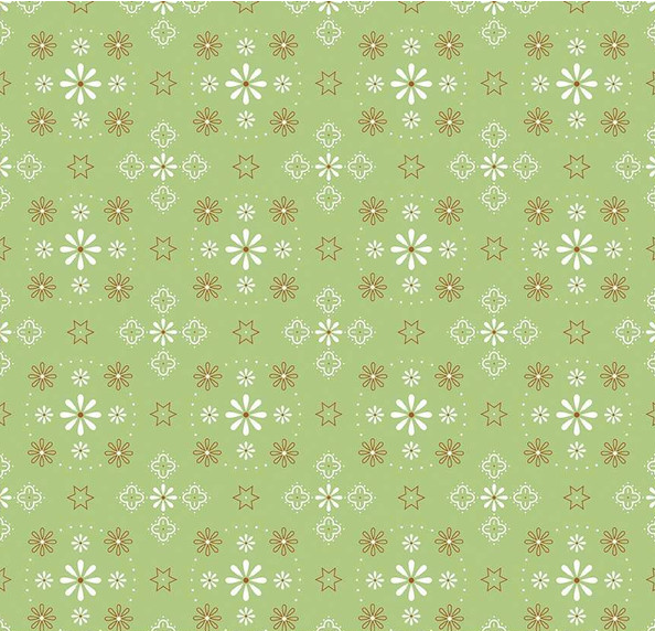Bee Backing and Borders Wide Back WB6420-Green