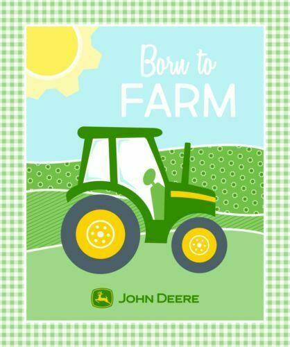 Born to Farm John Deere Panel