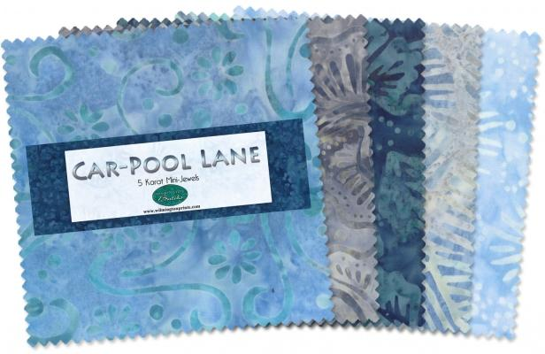 Car-Pool Lane Charm Packs
