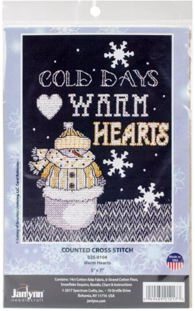 Cold Day Cross Stitch Kit