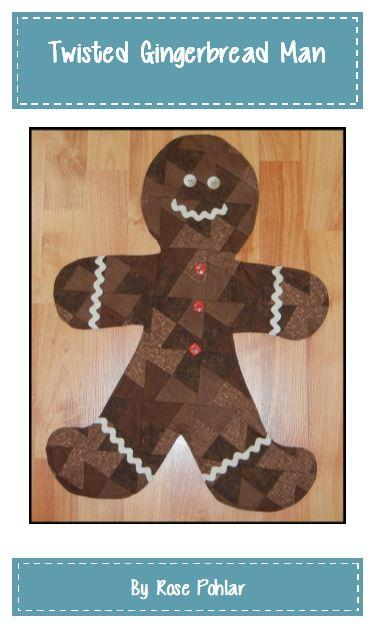 Twisted Gingerbread Man