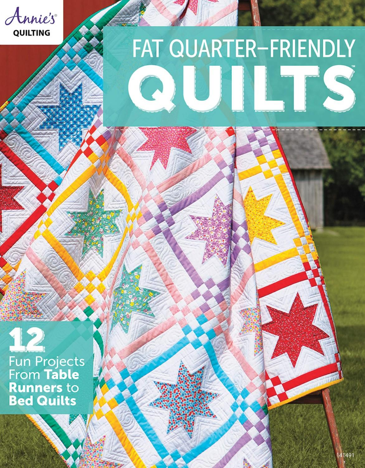 Fat Quarter Friendly Quilts Book