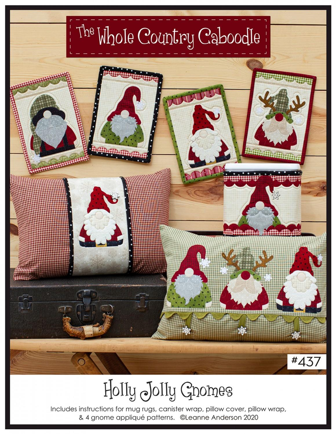 Holly Jolly Gnomes Pattern
