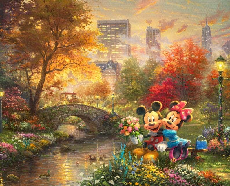 Mickey and Minnie in Central Park