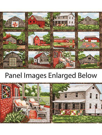 Quilt Trails Landscapes Panel