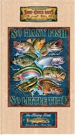 So Many Fish So Little Time Panel