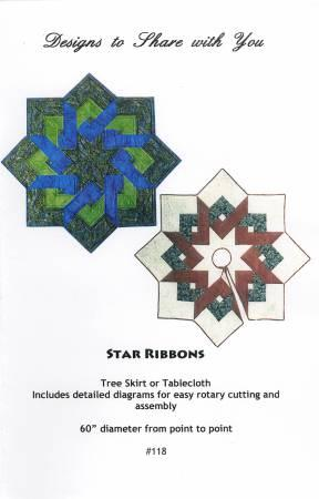 Star Ribbon Tree Skirt