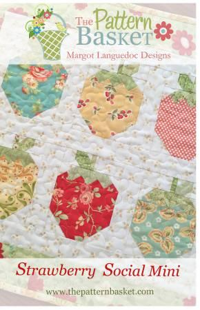 Strawberry Social Mini By The Pattern Basket