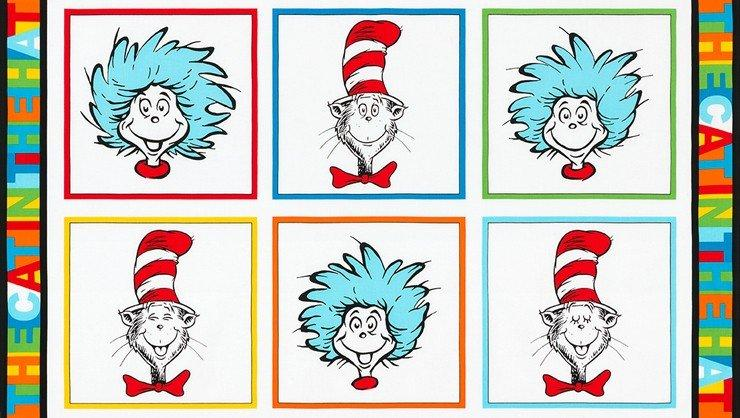 The Cat in the Hat 18195-203 Panel