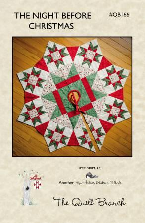 The Night Before Christmas Tree Skirt