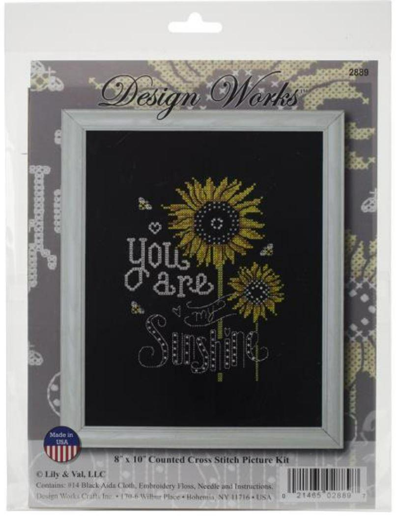 You are My Sunshine Cross Stitch Kit