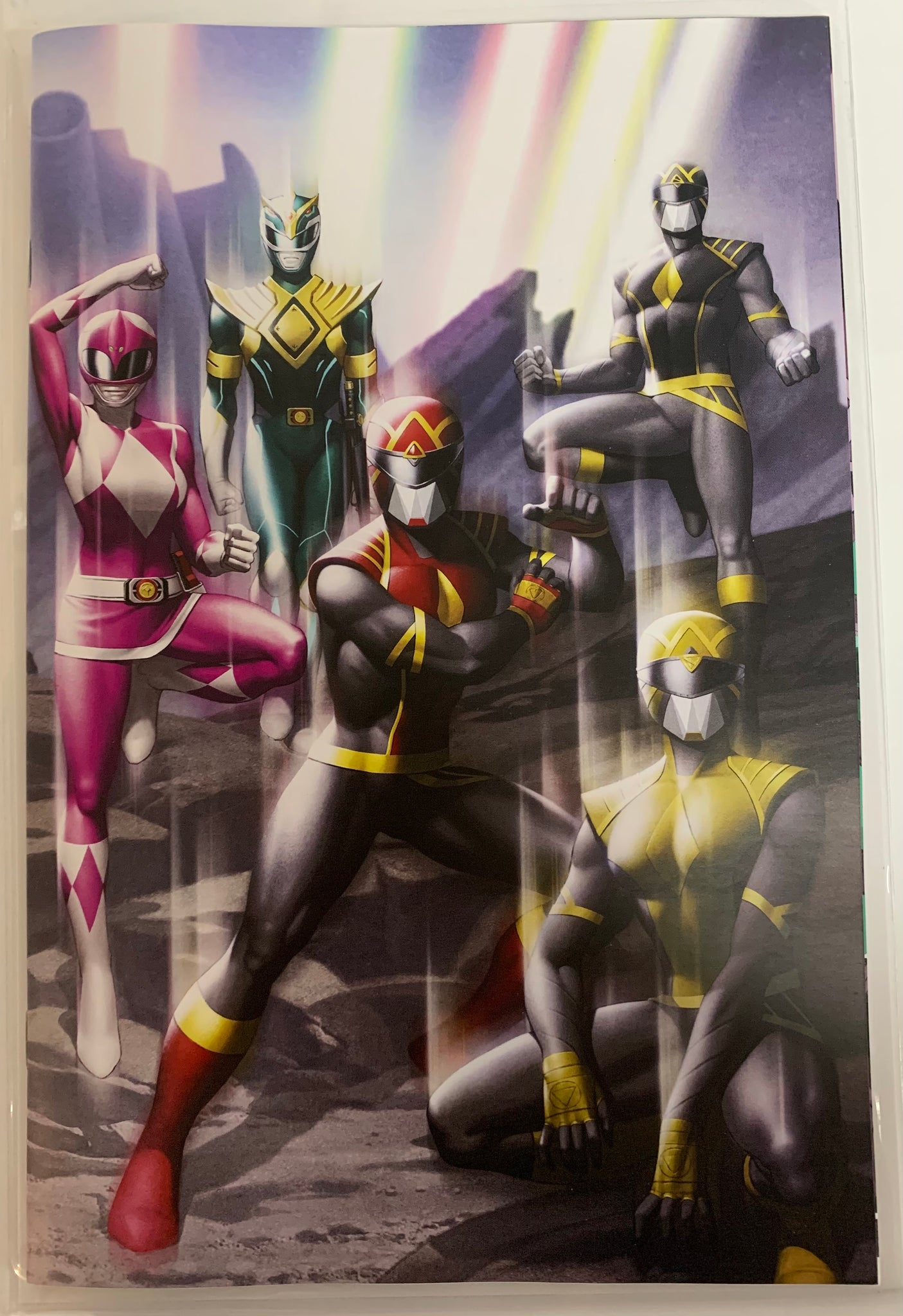 Mighty Morphin #1 and Power Rangers #1 Yoon one per store set