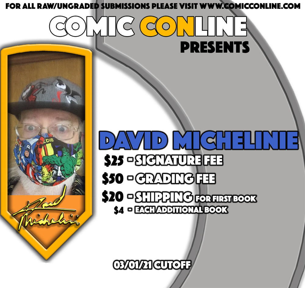 David Michelinie Signature