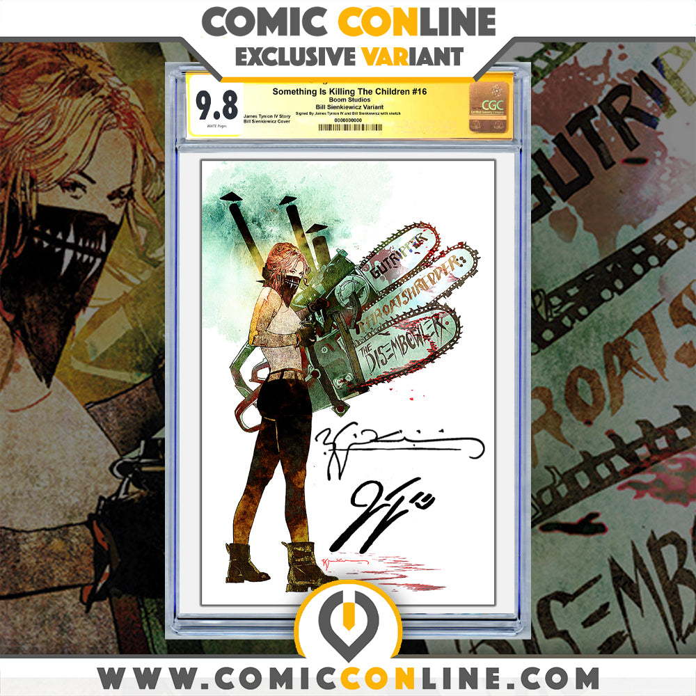Something is Killing the Children #16 Sienkiewicz Virgin Variant Double Signed/Remarqued
