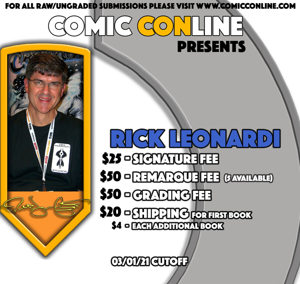 Rick Leonardi Signature and Remarques