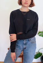 Load image into Gallery viewer, cropped crew neck sweatshirt