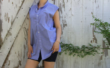 Load image into Gallery viewer, oversized smock shirt dress