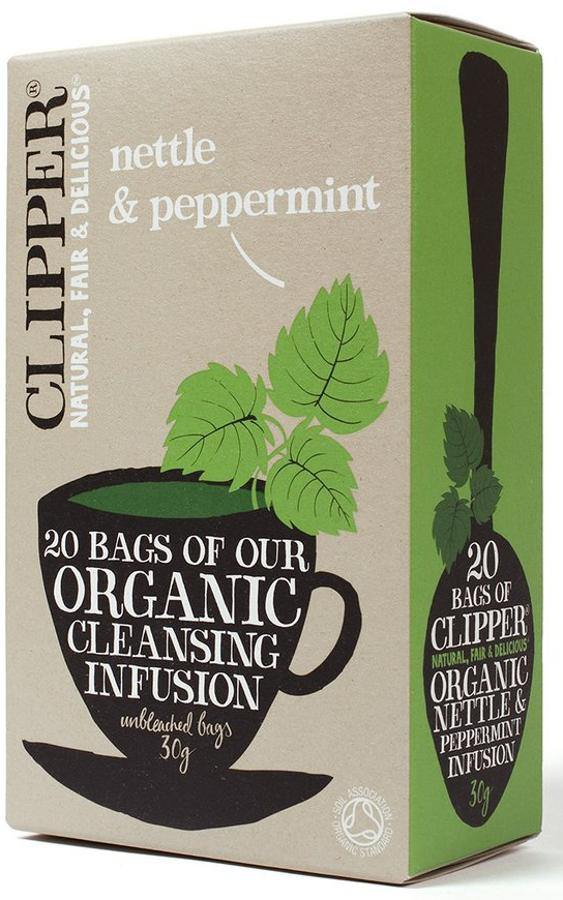 Clipper Nettle & Peppermint 20 - Your Health Store