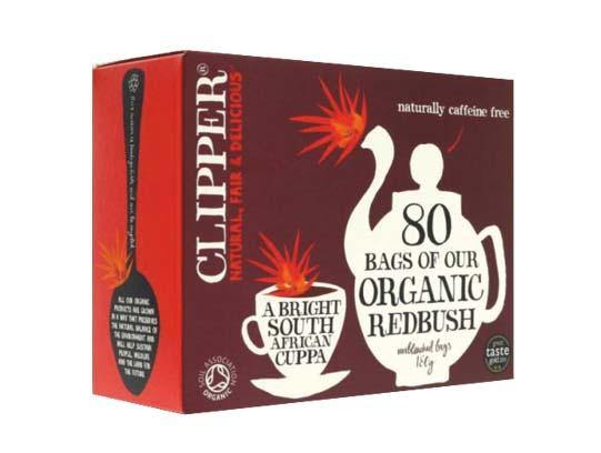 Clipper Organic Rooibos Tea (80) - Your Health Store