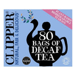 Clipper Org Decaff Tea 80 - Your Health Store