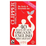 Clipper Fairtrade Organic English Breakfast 40 Tea Bags - Your Health Store