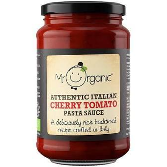 Mr Organic Cherry Tomato Pasta Sauce - Your Health Store