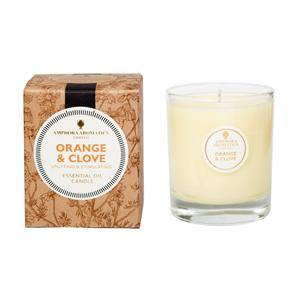 Amphora Orange & Clove Candle 40 hours - Your Health Store