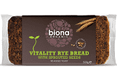Biona Organic Rye Bread with Sprouted Seeds 500g - Your Health Store
