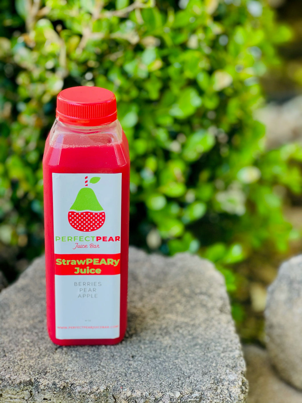 StrawPEARy Cold Pressed Juice