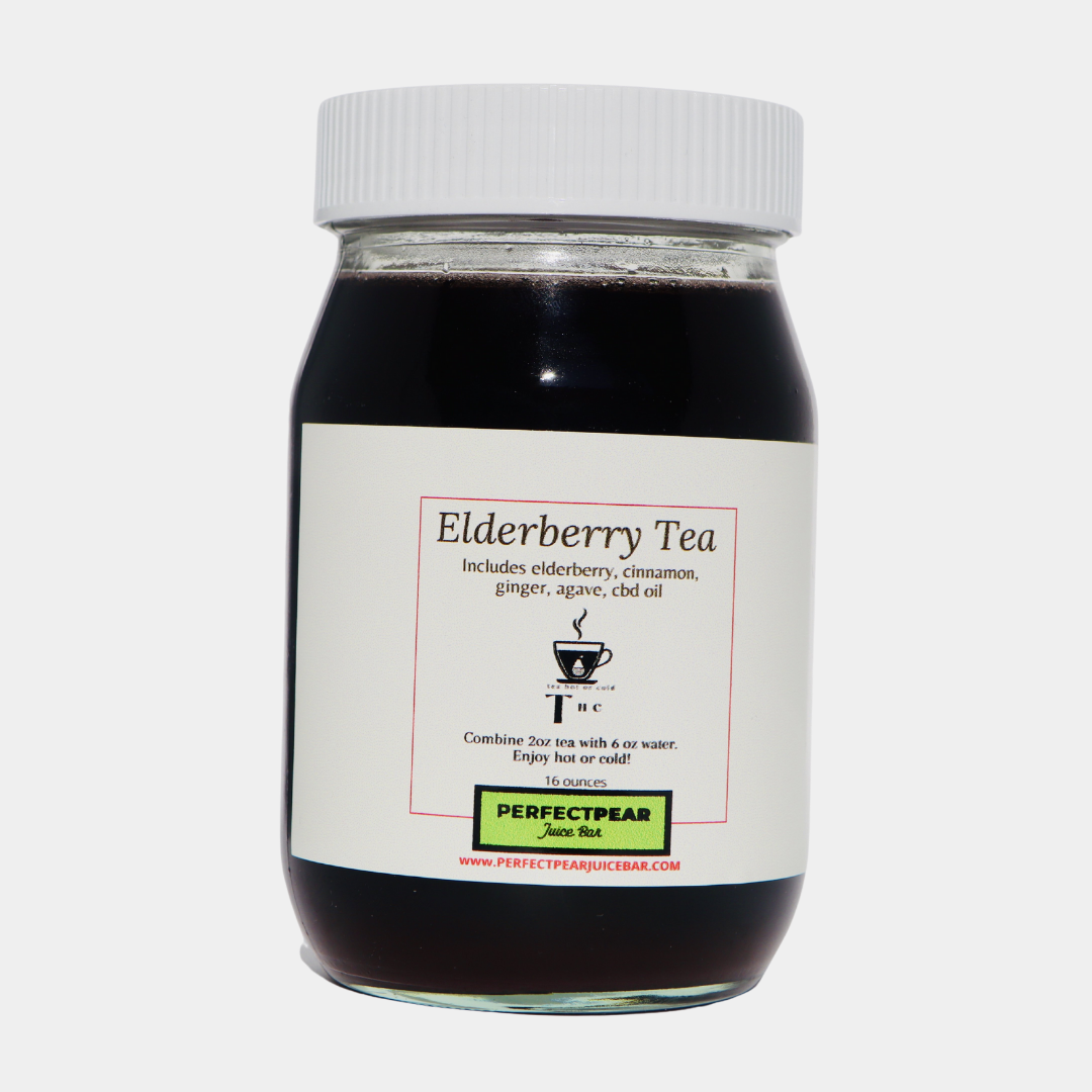 THC (Tea Hot Or Cold) (Elderberry Tea)