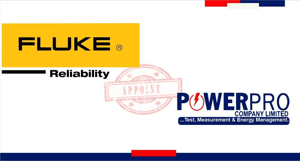 Fluke Reliability (PRUFTECHNIK) Appoints Powerpro Company limited as Authorized Distributor
