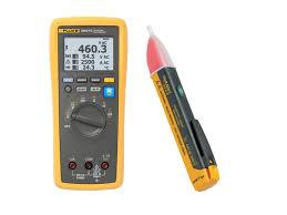 Fluke 3000FC/1AC-II Electrician's multimeter voltage tester and accessory kit