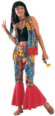 Groovy Baby! Embrace your hippie inner self in this 1960's Flower Power Costume. WWW.Costumes NQ