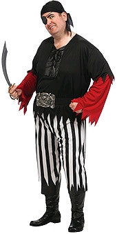 Pirate Guy Costume- Adult