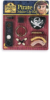 Caribbean Pirate Makeup Kit